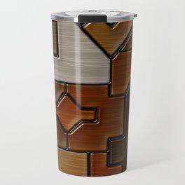 Woodwork Travel Mug
