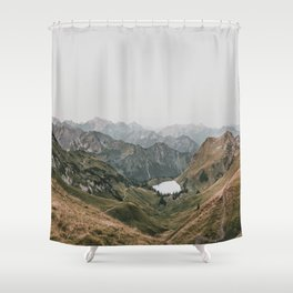 Gentle - landscape photography Shower Curtain
