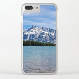 Canadian Rockies Nature Photo Clear iPhone Case