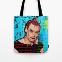 danny ivan Tote Bags featuring Danny Hennesy by brett66