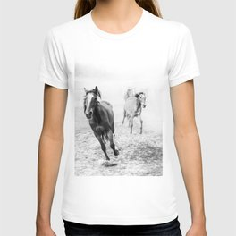 Running with the horses T-shirt