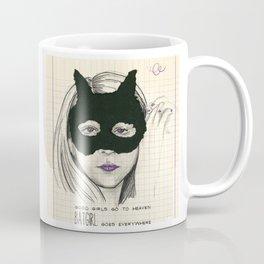 BATGIRL goes everywhere Coffee Mug