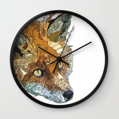 Her Complicated Nature II Wall Clock