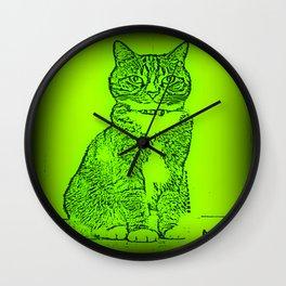 Handsome Devil Wall Clock