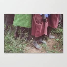 Skirts Canvas Print