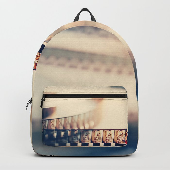 super 8 film II Backpack