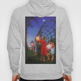 Classical Magic Realism Masterpiece 'Garden Party' by George Tooker Hoody