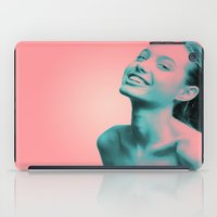 lightning iPad Cases featuring Lightning by Grace Teaney Art