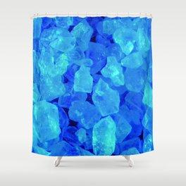 BLUE METH Shower Curtain