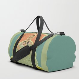Mother with Twins Duffle Bag