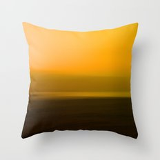 Sunset Glow Throw Pillow