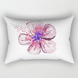 Little Lilac Flower Rectangular Pillow