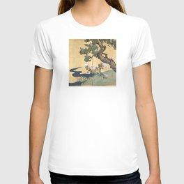 Paulownias and Chrysanthemums T-shirt