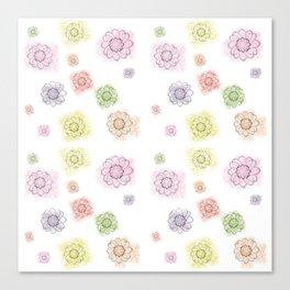 Floral summerprint Canvas Print