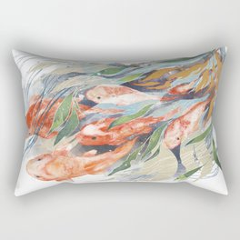in the waterweeds Rectangular Pillow