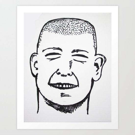 Gut Busting Art Print