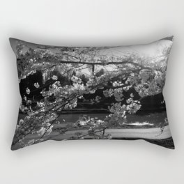 Athens, Ohio Sakura Trees Rectangular Pillow
