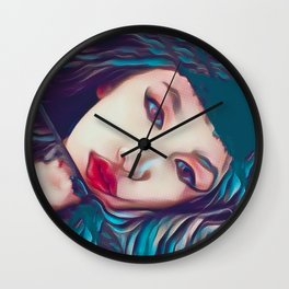 Glass Houses Wall Clock
