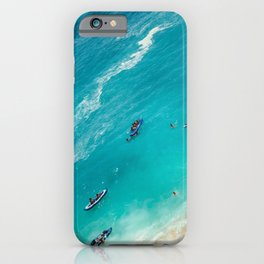 Beach from above iPhone Case