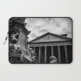 Clouds Over The Pantheon Laptop Sleeve