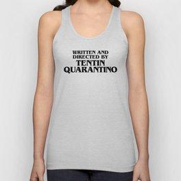 Tentin Quarantino Unisex Tank Top