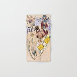 "Charles Rennie Mackintosh ""Flowers & Plants"" (4) Hand & Bath Towel"