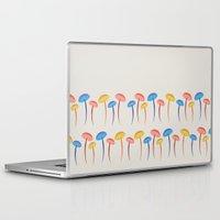 mushroom Laptop & iPad Skins featuring Mushroom by Emmyrolland