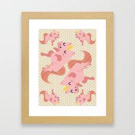 Sweet UNICORN Framed Art Print