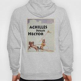 Achilles Kills Hector in The Illiad Illustration (1918) Hoody