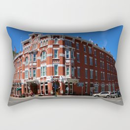 Historic Hotel In Durango Rectangular Pillow