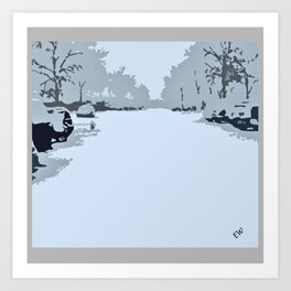 Winter crave Art Print
