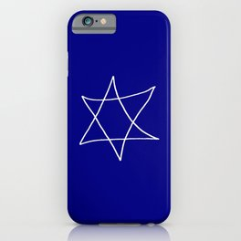 Star of David 20- Jerusalem -יְרוּשָׁלַיִם,israel,hebrew,judaism,jew,david,magen david iPhone Case