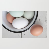 eggs Area & Throw Rugs featuring Eggs by Schaepman & Habets