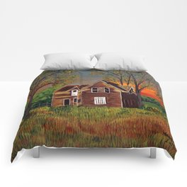Old Farmhouse  Comforters
