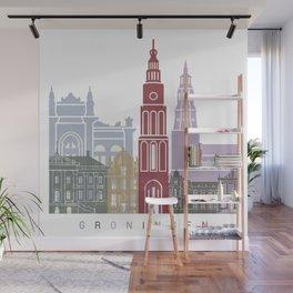 Groningen skyline poster Wall Mural