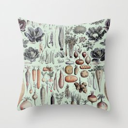 Science Farm Throw Pillow
