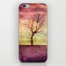 ATMOSPHERIC TREE - October Mood iPhone & iPod Skin