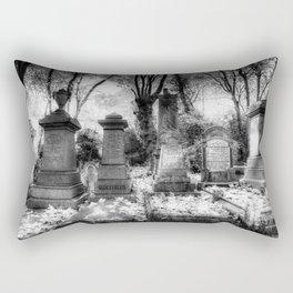 Highgate Cemetery London Rectangular Pillow