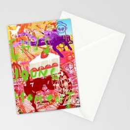 Memory is failing away Stationery Cards