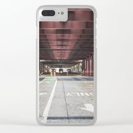 Straight Ahead - Chicago Clear iPhone Case