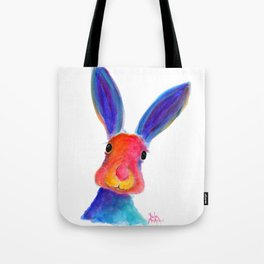 Happy Hare ' BuGsY ' by Shirley MacArthur Tote Bag