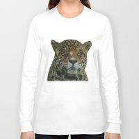 jaguar Long Sleeve T-shirts featuring Jaguar by Sean Foreman