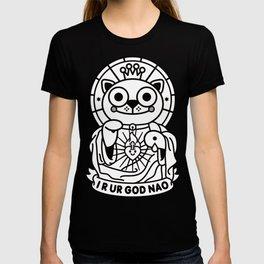 Jeezus Cat (b/w) T-shirt