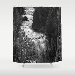 Yellowstone Kepler Cascades Shower Curtain