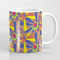 hippy Mugs featuring Hippy Sun  by MinaSparklina