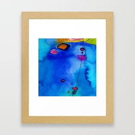 Magical Thinking No. 2C by Kathy Morton Stanion Framed Art Print