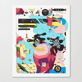 Funlandia Canvas Print