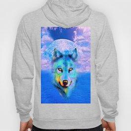 Wolf Moon and the Deep Blue Sea Hoody
