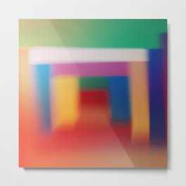 Colored blur background 3 Metal Print