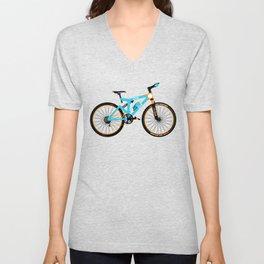 Mountain Bike Unisex V-Neck